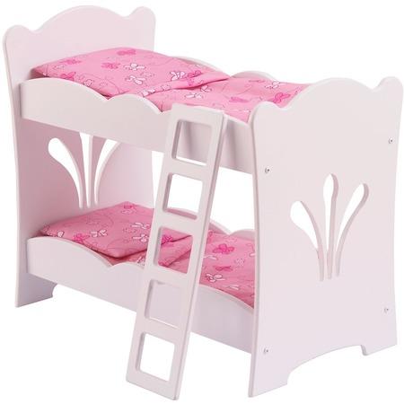 Купить Кроватка двухъярусная для кукол KidKraft 60130