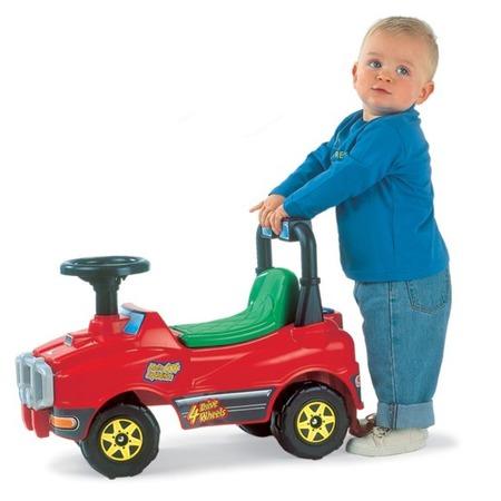 Купить Машина-каталка POLESIE «Джип с гудком». В ассортименте