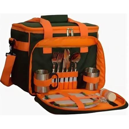 Купить Набор принадлежностей для пикника Helios HS-811G. Количество персон: 2 шт