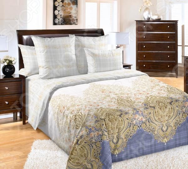 цена Комплект постельного белья Королевское Искушение «Ребекка» онлайн в 2017 году