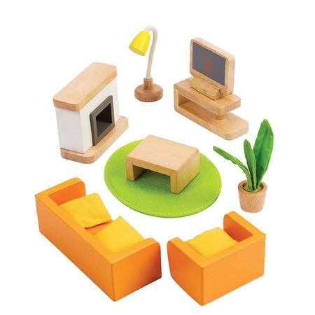 Купить Мебель для домика Hape «Гостиная»