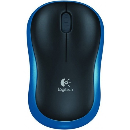 Купить Мышь Logitech M185 Dark Blue Wireless USB