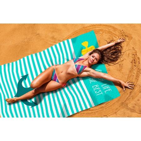 Купить Покрывало пляжное Сирень «Лучший пляж»