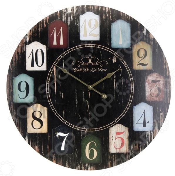 Часы настенные Mitya Veselkov «Цветные двери»