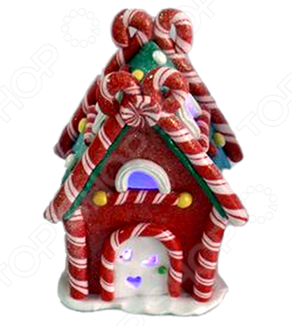 Декорация с подсветкой Crystal Deco «Конфетный домик»