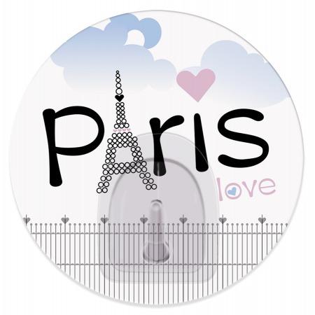 Купить Крючок Tatkraft Paris Love