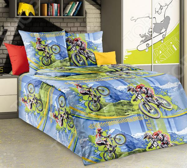 Детский комплект постельного белья Бамбино «Фрирайд» детский комплект из 3 эл тов защиты для роликов скейтборда или самоката basic