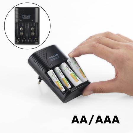 Купить Зарядное устройство для аккумуляторных батареек Rovus