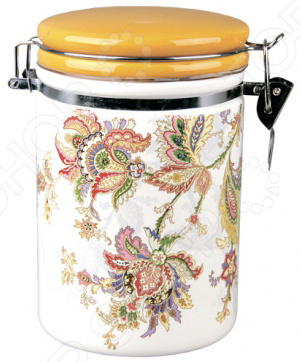 Банка для хранения сыпучих продуктов Коралл HC8600A-F60 «Марокканский цветок»