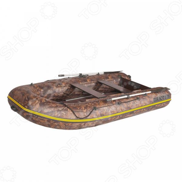 Лодка моторно-гребная ПМ-330К. Рисунок: камуфляж