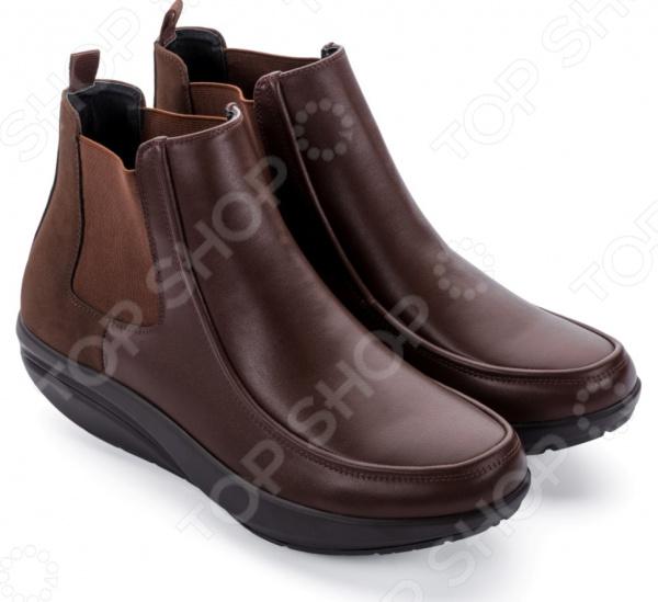 Ботинки мужские Walkmaxx Стильный Комфорт. Цвет: коричневый