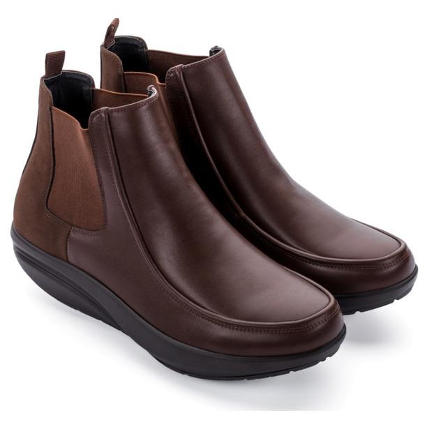 фото Ботинки мужские Walkmaxx Стильный Комфорт. Цвет: коричневый