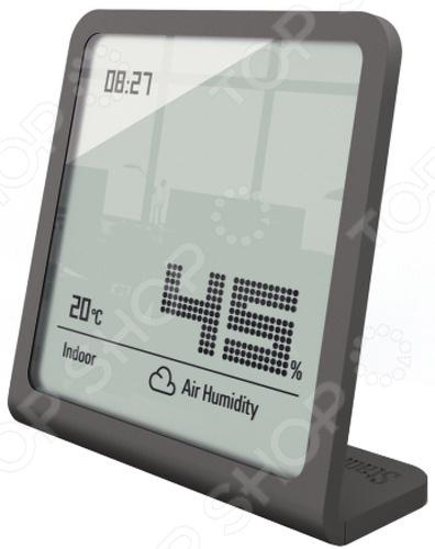 Гигрометр Stadler Form Selina hygrometer прибор, используемый для контроля и измерения уровня температуры и влажности воздуха в помещении. Как мы знаем, оба этих показателя являются достаточно важными и оказывают прямое влияние на наше здоровье и общее физическое состояние. При их дисбалансе у людей часто наблюдается повышенная утомляемость, усталость и снижение работоспособности. Прибор отличается высокой точностью измерений, осуществляет тщательную диагностику параметров воздуха и позволяет в кратчайшие сроки установить его характеристики и отслеживать их во времени. Влажность воздуха гигрометр измеряет в диапазоне от 25 до 98 , а температуру в промежутке от -10 С до 50 С. Кроме того, в нем также предусмотрены электронные часы. Прибор выполнен в стильном дизайне и снабжен тонким корпусом всего 4 мм . Для его работы требуются две батареи типа CR2016.