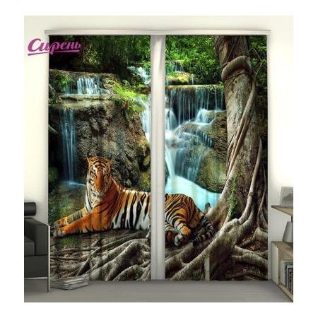 Купить Фотошторы Сирень «Индийский тигр»