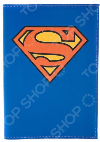 Обложка для паспорта кожаная Mitya Veselkov «Супермен» все цены