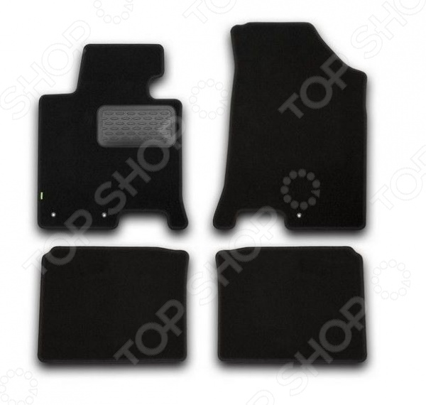 цена на Комплект ковриков в салон автомобиля Klever Hyundai i40 2012 Standard