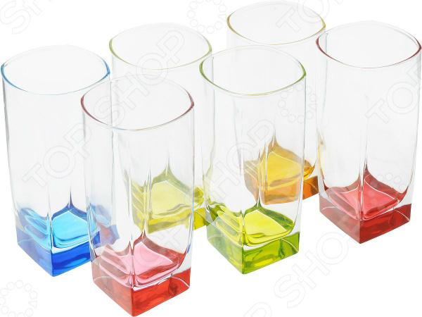 Набор высоких стаканов Luminarc Sterling Bright Colors