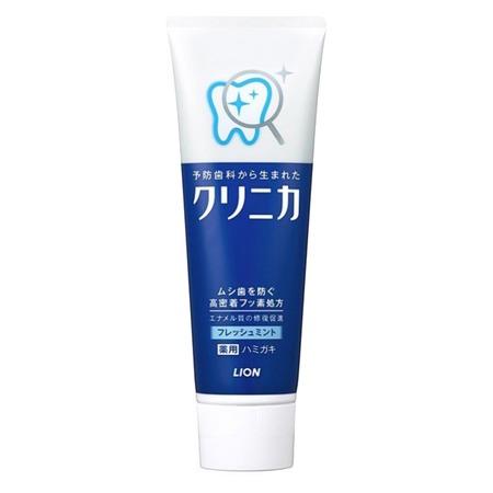 Купить Зубная паста Lion Clinica Fresh Mint с освежающим ароматом мяты