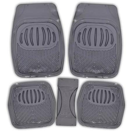 Купить Комплект из 5-ти ковриков в салон автомобиля SKYWAY Rain-1 «Ванночка»