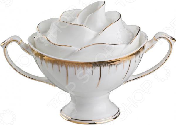 Сахарница Lefard «Цветочная симфония» 590-050 чайный набор lefard цветочная симфония 590 004