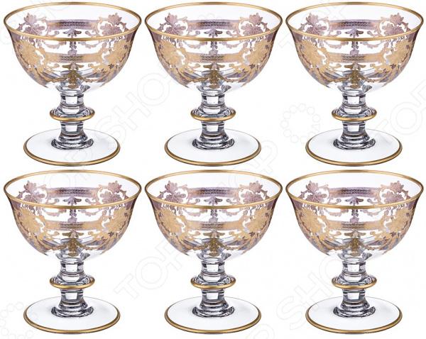 Набор бокалов Same 103-563 набор бокалов crystalex ангела оптика отводка зол 6шт 400мл бренди стекло