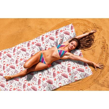 Купить Покрывало пляжное Сирень «Пляжная романтика»