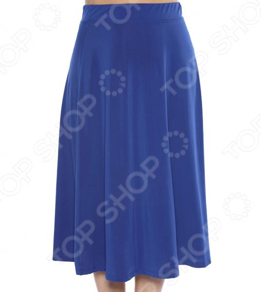 Юбка VEAS «Элегантная». Цвет: Синий