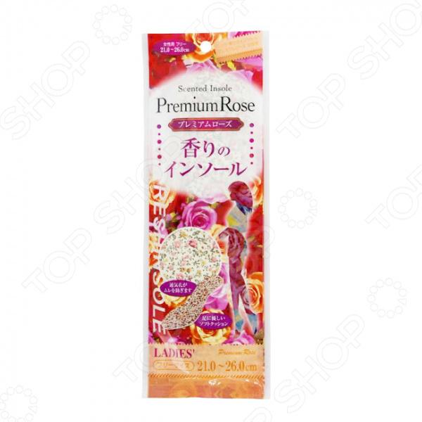 Стельки женские Fudo Kagaku с ароматом розы аромат розы
