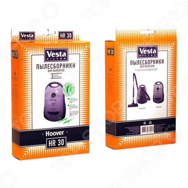 Мешки для пыли Vesta Filter HR 30 мешки для пыли vesta filter zr 02 для zelmer