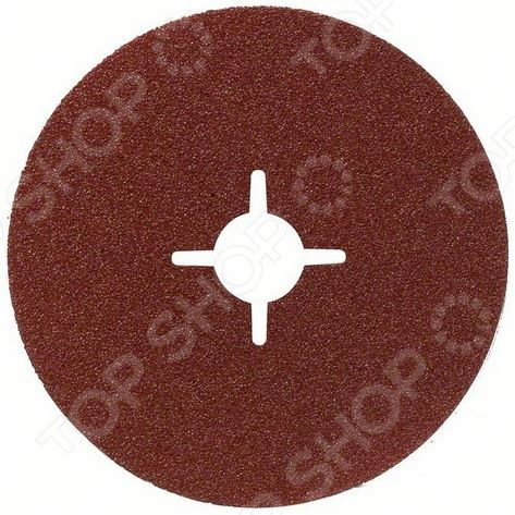 Диск шлифовальный фибровый Bosch 2608605479 набор шлифовальных листов bosch 2609256a35