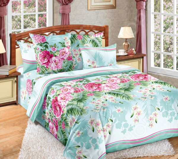 Zakazat.ru: Комплект постельного белья Белиссимо «Тропикана». Семейный