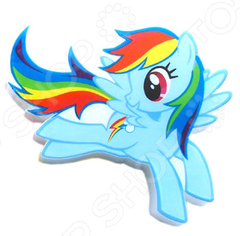 Пробивной светильник 3DlightFX My Little Pony Rainbow Dash
