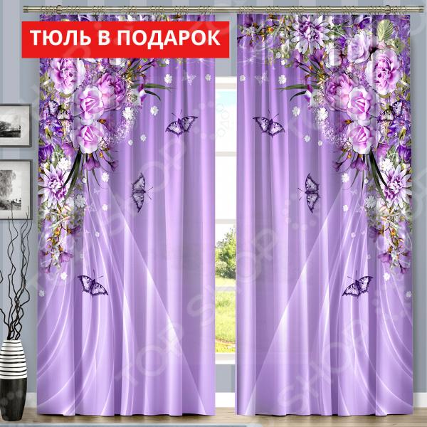 Komplekt-fotoshtor-Vesennyaya-skazka-Cvet-sirenevyj-Ucenennyj-tovar-5025679