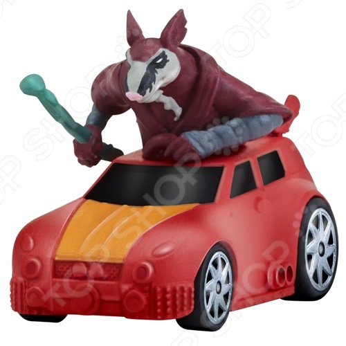 Машинка игрушечная с фигуркой Nickelodeon «Сплинтер на Атаке сенсея» игровые фигурки turtles машинка черепашки ниндзя 7 см сплинтер на атаке сенсея