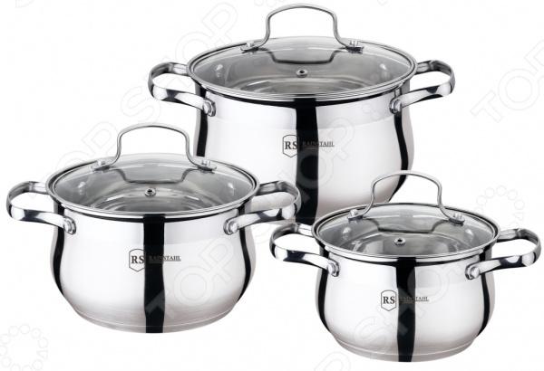 Набор посуды для готовки Rainstahl RS-1453-06 набор посуды rainstahl 8 предметов 0716bh