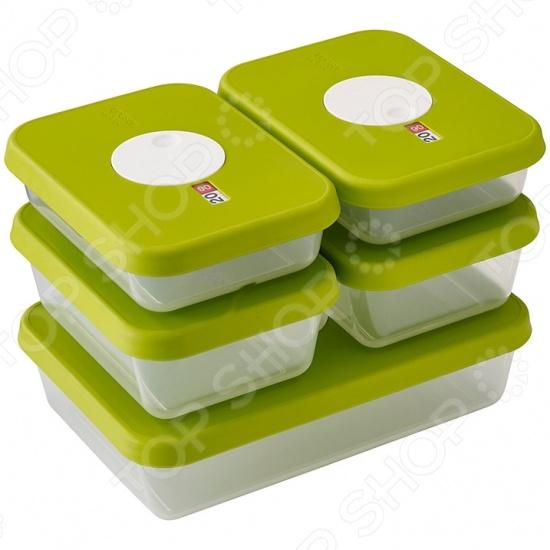Набор контейнеров для хранения продуктов Joseph Joseph Dial Rectangular