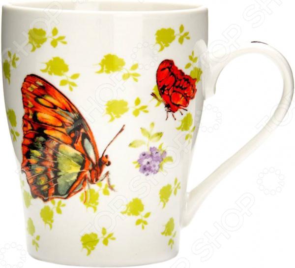 Кружка Loraine «Бабочки» 26586