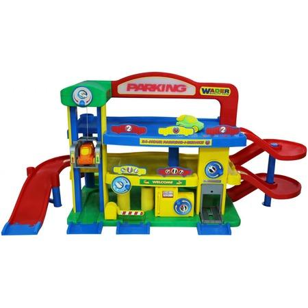 Купить Набор игровой для мальчика Wader «Гараж премиум с автомобилями»