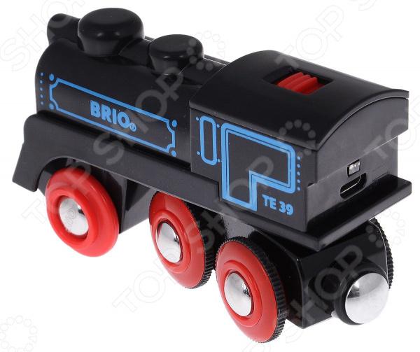Zakazat.ru: Паровоз игрушечный со светозвуковыми эффектами Brio с mini USB кабелем