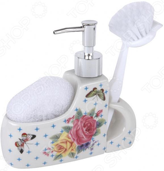 Дозатор для моющего средства Rosenberg RCE-335016 набор для ванной комнаты rosenberg rce 350004 3