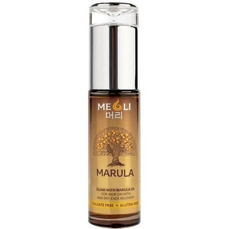 Купить Эликсир для роста волос и восстановления сухих кончиков Meoli Hair Growth & Dry Ends Recovery with Marula Oil