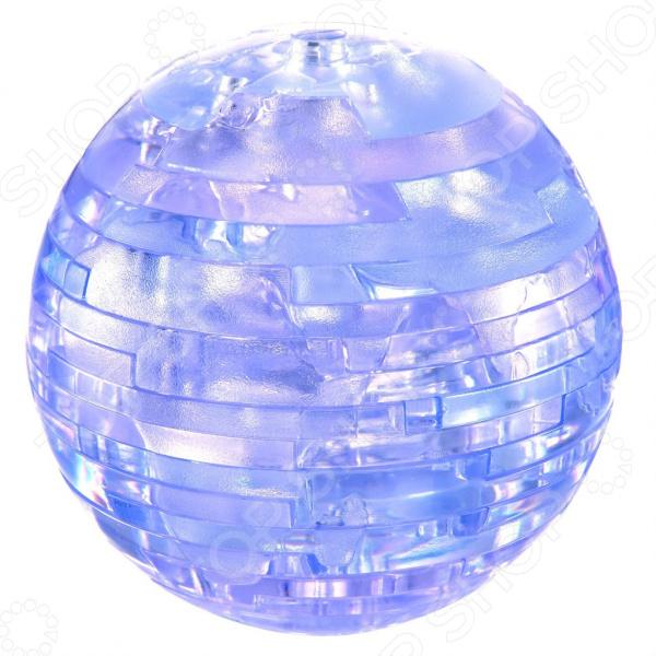 Кристальный пазл 3D Educational Line с подсветкой «Земля». В ассортименте