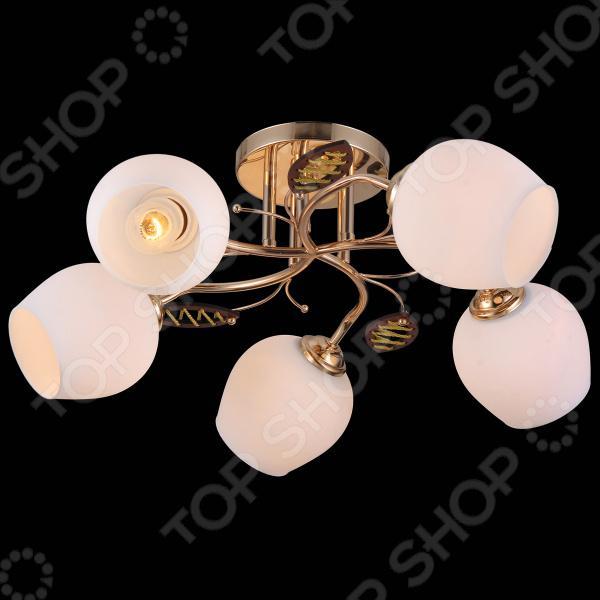 Люстра потолочная Natali Kovaltseva 11456/5C FRENCH люстра на штанге natali kovaltseva 11458 5c french