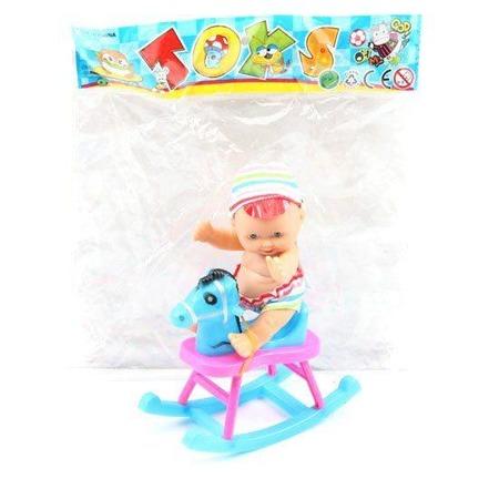 Купить Игровой набор Shantou Gepai «Пупс с лошадкой»