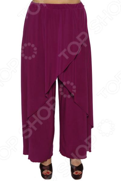 цена Юбка-брюки Pretty Woman «Крылья Пегаса». Цвет: фуксия онлайн в 2017 году