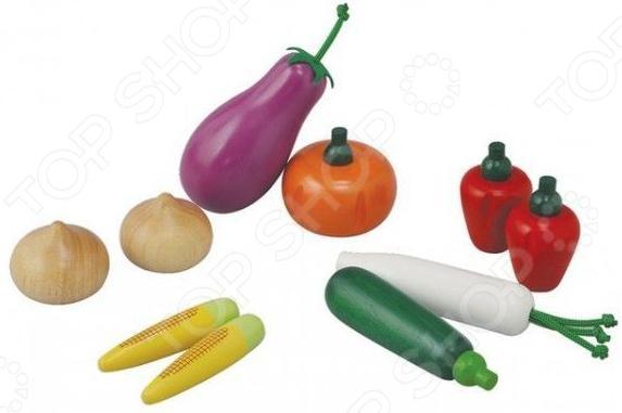 Игровой набор для ребенка Plan Toys «Овощи» k3453