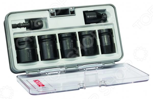 Набор торцевых головок Bosch 2608551029 набор головок кобальт 649 912