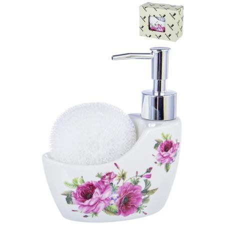 Купить Диспенсер-подставка для жидкого мыла и губки Guterwahl Party Time 05042