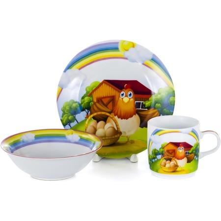 Купить Набор посуды для детей OlAff Children C437