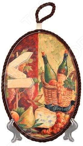 Подставка под горячее Elan Gallery «Натюрморт с сыром»